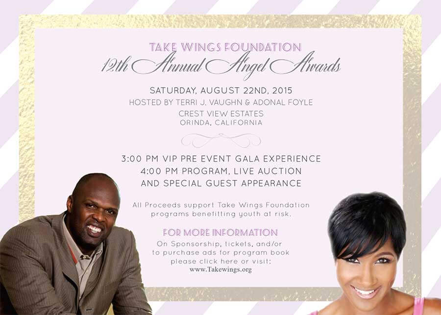 12th Annual Angel Awards Invitation
